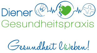 Diener-Gesundheitspraxis Logo und Slogan